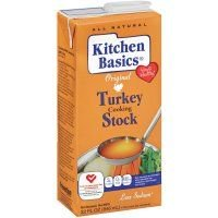 Kitchen Basics All Natural Original Turkey Cooking Stock, 32 Ounce - 12 per case.