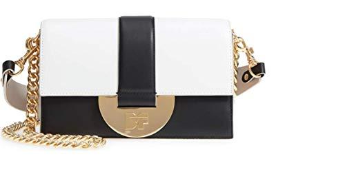 DIANE VON FURSTENBERG Bonne Journée Half Moon Leather Crossbody Bag from Diane von Furstenberg