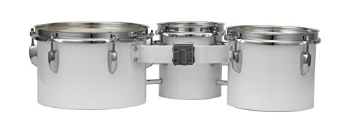 Pearl MJT680/CXN33 Junior Marching Trio Set 6''x6.5'', 8''x6.5'', 10''x6.5'' and Carrier by Pearl (Image #2)