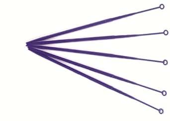 Heathrow Scientific HD81121C - Asa bacteriológica (desechable, 10 microlitros, estéril, polipropileno flexible, 4 mm de diámetro y 200 mm de longitud, pack de 1000 unidades)
