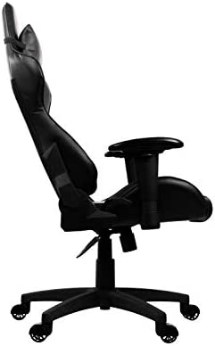 Arozzi Verona V2 Advanced Racing Style Gaming Chair with High Backrest, Recliner, Swivel, Tilt, Rocker and Seat Height Adjustment, Lumbar and Headrest Pillows Included, Black 31iM2fmVVhL
