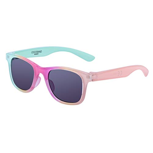 COCOSAND Gift Set Sunglasses for toddler kids with 100% UV Protection for 2 to 4 years ()
