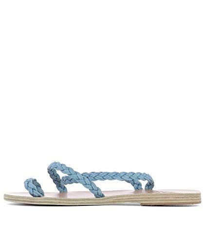 Sandali Tessuto Sandals Greek Eleftherialight Ancient Azzurro Donna 8wqxTZnC4