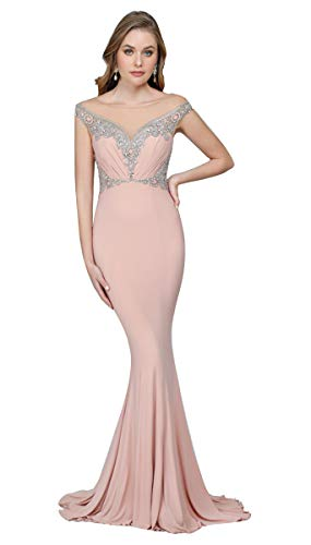 Terani Couture Sweetheart Neck Beaded Bodice Long Dress