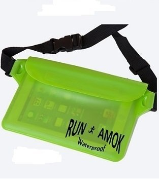 RunAmok Waterproof Bag, Stands up to water, dirt, snow and sand. Protect your important items while Boating, Swimming, Attending Sporting Events just about any Outdoor Activity