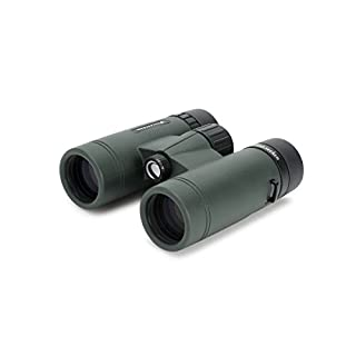 Celestron – TrailSeeker 8x32 Binoculars – Fully Multi-Coated Optics – Binoculars for Adults – Phase and Dielectric Coated BaK-4 Prisms – Waterproof & Fogproof – Rubber Armored – 6.5 Feet Close Focus