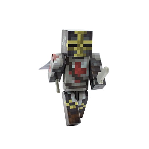 Templar Knight - 4-inch plastic toy action figure by EnderToys
