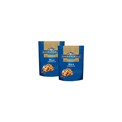 Ghirardelli Milk Chocolate Baking Chips (33 oz., 2 pk.) (Fondue With Chocolate Chips)