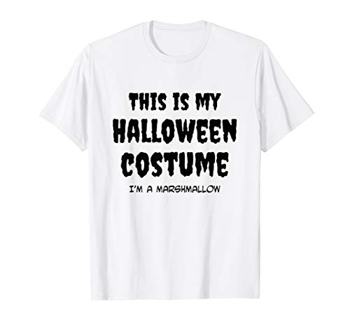 This Is My Halloween - I'm a Marshmallow Costume T-Shirt ()