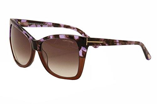 Tom Ford Sonnenbrille (FT0295) 55Z: Coloured tortoise / Brown