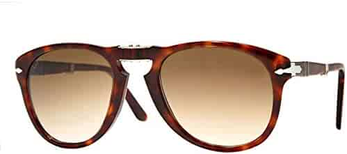 1e5feefffb Persol PO0714S Folding Sunglasses Havana w Brown Gradient Lens 52mm 2451 PO  0714S PO0714-