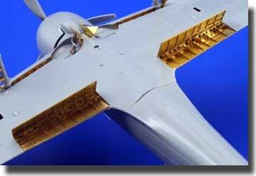 Eduard Accessories A6M3 Zero Type 32 landing flaps für Hasegawa Bausatz