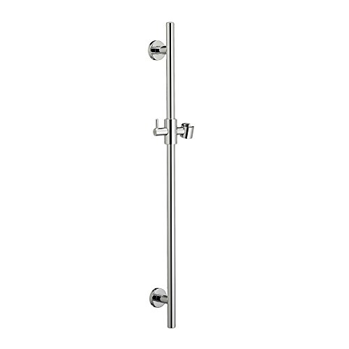 (American Standard 1660.330.002 Round Shower Slide Bar with Shower Bracket)