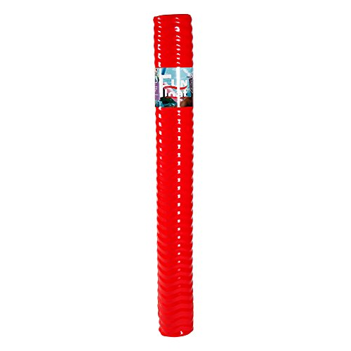Fun Float Swimming Pool Noodle, Super Soft Closed-Cell Memory Foam, Vinyl Coated, Unsinkable, Strong Buoyant Power, Fun in Water Lake River Pool as Swimming Floating Toy Equipment Red