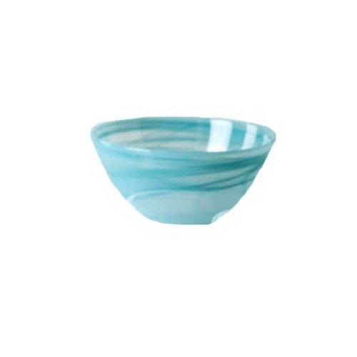 Shiraleah Large Turquoise Polished Alabaster Round Bowl ()