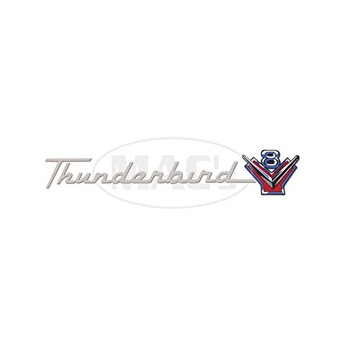 (MACs Auto Parts 6647518 Ford Thunderbird Valve Cover Decals 292 Thunderbird V8 57)
