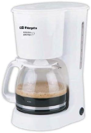 Cafetera de goteo ORBEGOZO CG4023B | ORBEGOZO 10-12 tazas: Amazon.es: Hogar