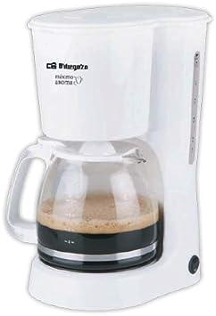 Cafetera de goteo ORBEGOZO CG4023B | ORBEGOZO 10-12 tazas: Amazon ...