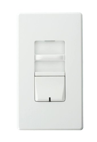 Leviton AWSMT-MAW Renoir II Preset Slide Dimmer, Incandescent, Thin Heat Sink, Narrow, 5 A, White by Leviton