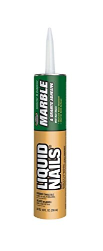 Construction Adhesive LN-933 - for Marble, Granite, Quartz and Other Solid Surface Materials, 10 oz, 5167275/EA