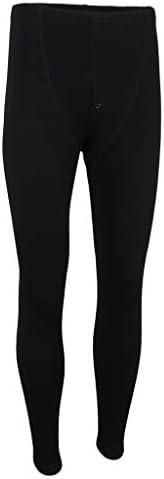 メンズ パンツ ロング ロングタイツ ロングパンツ 防寒 サーマルアンダーウェア 伸縮性 全3サイズ3色