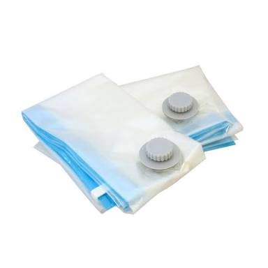 Hotdeal Market Space Saver Vacuum Seal Clothes Storage Organizer Bags 9 pcs set,4 bag 70x100 cm, 4 bag 60x80 cm, 1 Pump