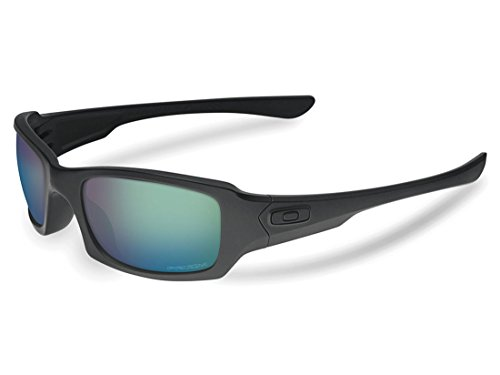 Oakley SI Fives Squared Prizm Matte Black Frame/Maritime Polarized - Polarized Fives Oakley