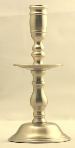 Plantation Candlestick - Brass & Silver Traditions Plantation Candlestick, Pewter