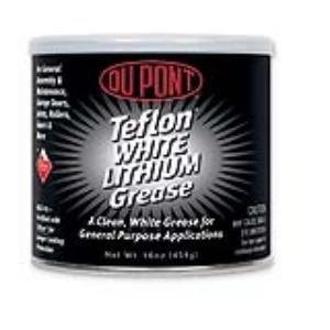 DuPont Teflon White Lithium Grease, 16 oz. tub (DGW616101) (16 Ounce Grease)