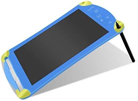 LKJASDHL 8.5インチ電子LCDタブレット液晶カラー手描きボード漫画子供の早期教育タブレットライトおもちゃで描画タブレットデジタルボード描画パッド (色 : 青)
