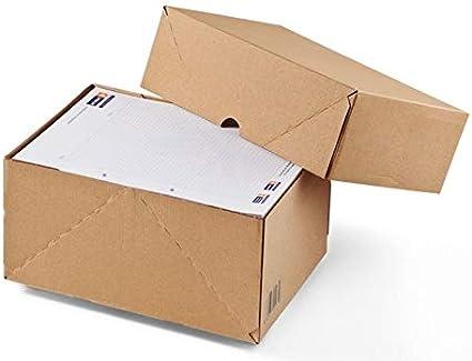 Colompac Cartón Plegable A4 en Cartón Corrugado Marrón Reciclable ...
