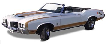 1972 Olds 442 Cutlass Hurst Convertible 2n1 Special Edition 1-25 Revell (Cutlass Model Car compare prices)