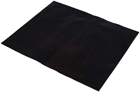 Negro ZengBuks 1Pc Reutilizable No Stick BBQ Grill Mat Hoja Placa Caliente Port/átil F/ácil de Limpiar Herramienta para cocinar al Aire Libre Elegante Revestimiento de PTFE Tela de Fibra de Vidrio
