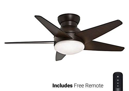 Casablanca Flush Ceiling Fan 59020, Isotope Brushed Cocoa 44