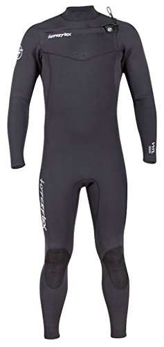 Wetsuit 3/2 Fullsuit - Hyperflex Men's VYRL 3/2mm Front Zip Fullsuit Black - LS