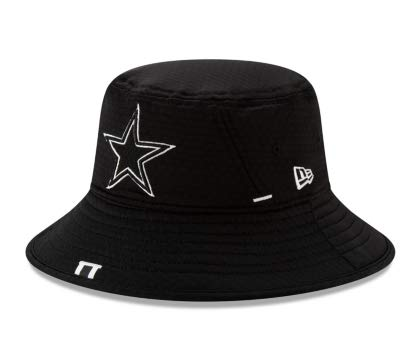 Dallas Cowboys New Era Mens Training Bucket Hat -