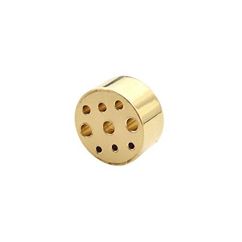 Novelty Incense Burner - Copper Incense Holder 9 Holes Copper Stick Burner for Incense 1.5mm 2mm 3mm 1 PC