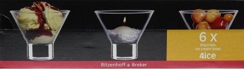 Ritzenhoff & Breker - Eis- und Dessertschalen - 6St