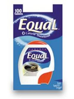 Take the great taste of Equal Artificial Sweetener Tablets - 100 Each Equal tablets are a convenient way to take the great taste of equal wherever you go