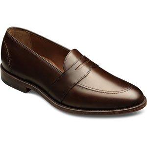 Allen-Edmonds Men's Westchester Slip-on Shoes,Brown Burnished Calf,11.5 3E US
