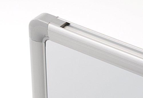 Dahle 96156-15453 Basic Board with Aluminium Frame, 30 x 45 cm, White