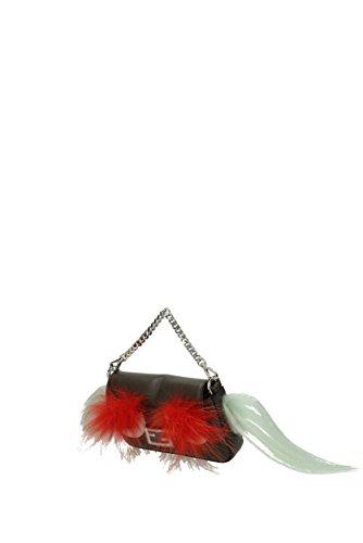 Fendi Borse a Mano micro baguette Donna - Pelle (8M035488R) Grigio Aclaramiento Precio Más Bajo AiWQ1n