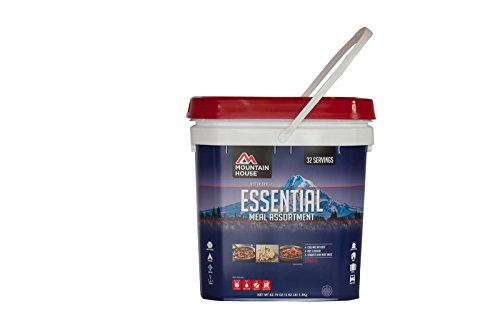 Mountain House Essential Bucket (Best Foods For Disaster Preparedness)