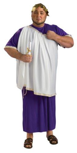Rubie's Costume Julius Caesar Costume, Purple And White, Adult Full Figure (Julius Caesar Costume Amazon)