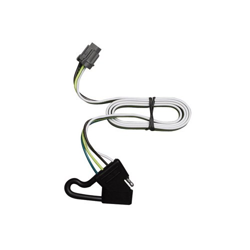 Vehicle Hitch Wiring For - Nissan - Xterra - 2000-2004 - Xterra w/Factory Tow Package , Replacement OEM Tow Package Wiring Harness (4-Flat) (Replacement Package Wiring Oem Tow)