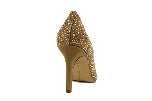 Shoes AH541 36 Suede Pumps Beige US 36 Woman US EU Lola 6 Strass EU Cruz 6 wSqqt