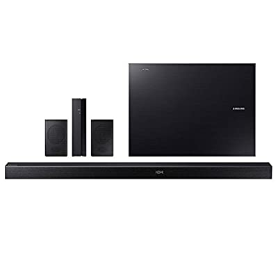 Samsung 5.1 Channel Sound Bar System With Wireless Sub And Rear Speakers Bluetooth, Black (Certified Refurbished)