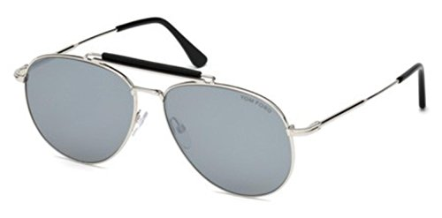 Tom Ford Sonnenbrille Sean (FT0536) palladium glanz