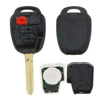 Remote Key Fob - Car Remote Key Fob - Replacement Car Remote Key Fob With H Chip For Toyota Prius C V 2014-2016 RAV4 2013-15 (Remote Key Fob Replacement)