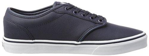 Seasonal Atwood Vans Sneaker Uomo Blu leather 5FOqw0aqx